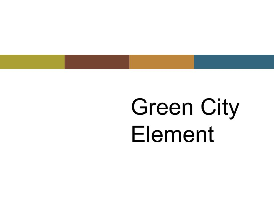 Green City Element