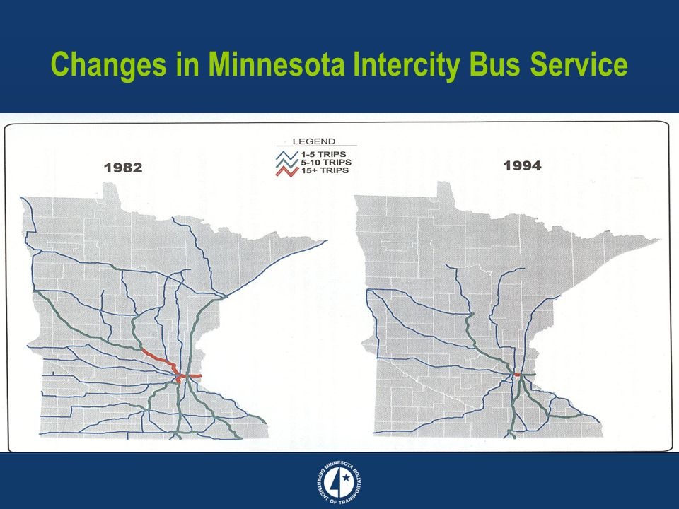 Changes in Minnesota Intercity Bus Service