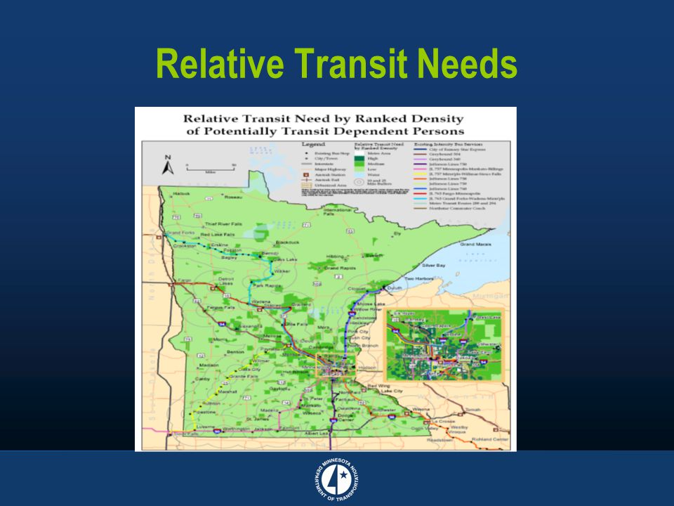 Relative Transit Needs