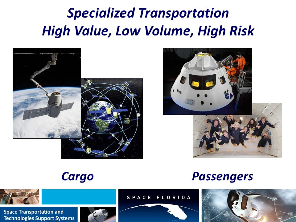 Specialized Transportation High Value, Low Volume, High Risk PassengersCargo