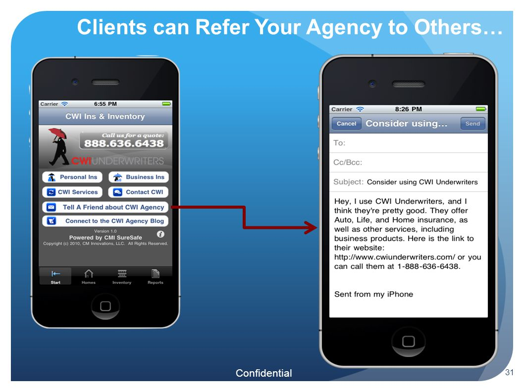 Confidential Clients can Refer Your Agency to Others… 31