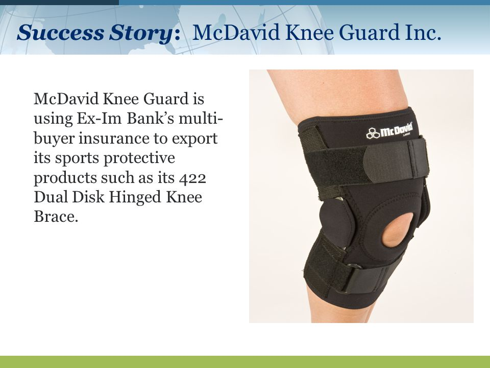 Success Story: McDavid Knee Guard Inc.