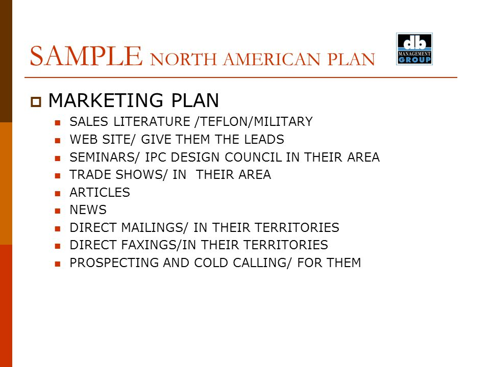 Sample Territory Sales Plan Sample Territory Sales Plan – Sample Territory Sales Plan