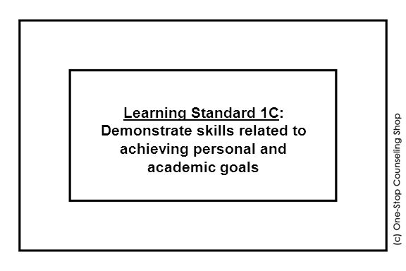 Learning Standard 1C: Demonstrate skills related to achieving personal and academic goals