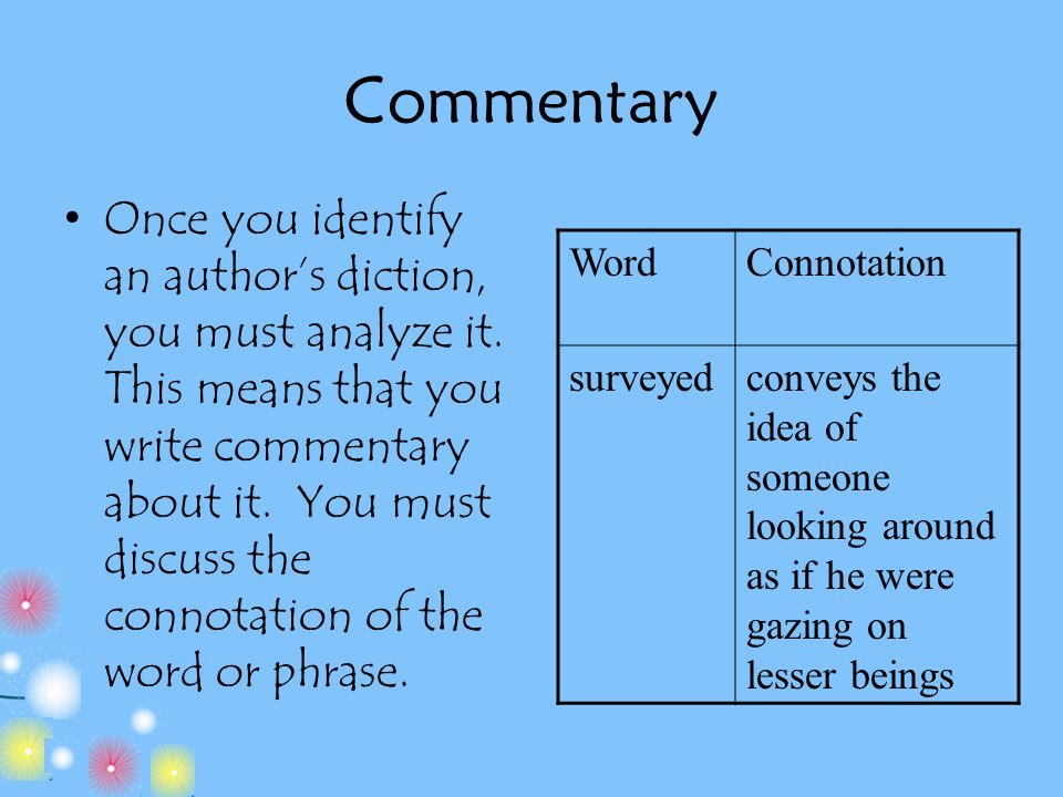what is not a common kind of thesis statement