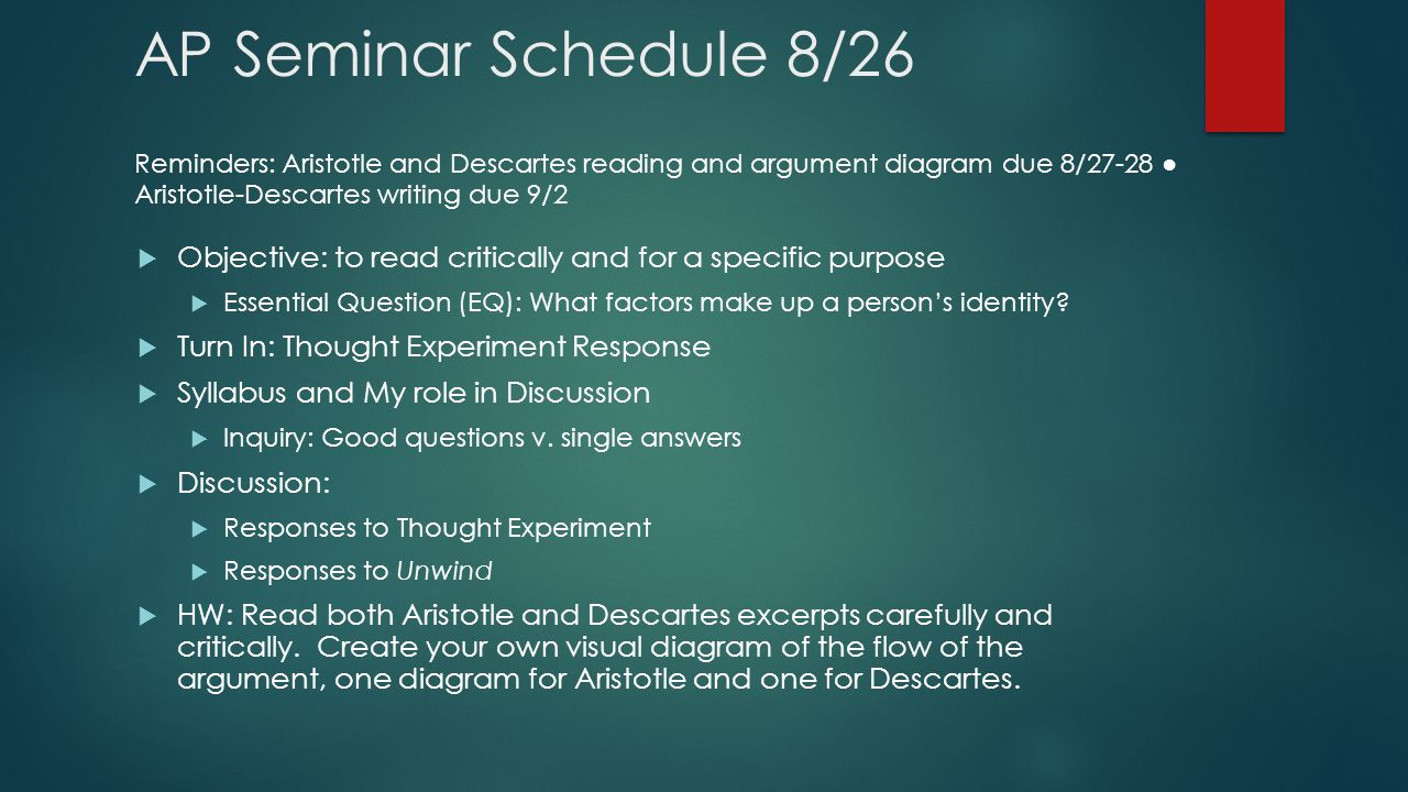 What exactly is a Capstone Seminar?