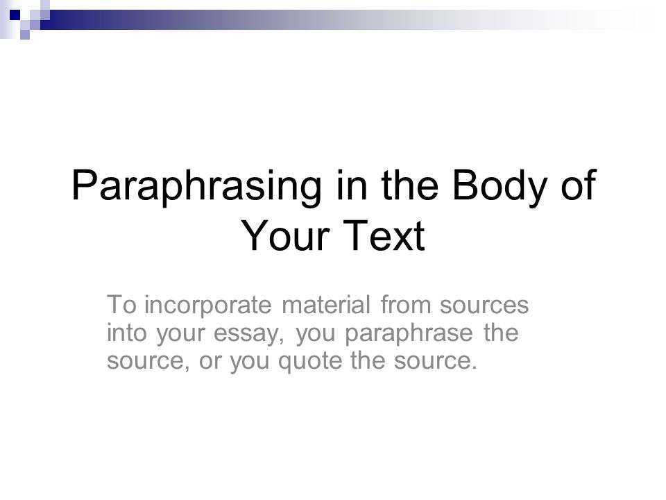 an introduction to the issue of plagarism and unacceptable forms of paraphrasing Paraphrasing plagiarism takes many forms some of the more common are identified here copying from a single source  unacceptable excuses a.