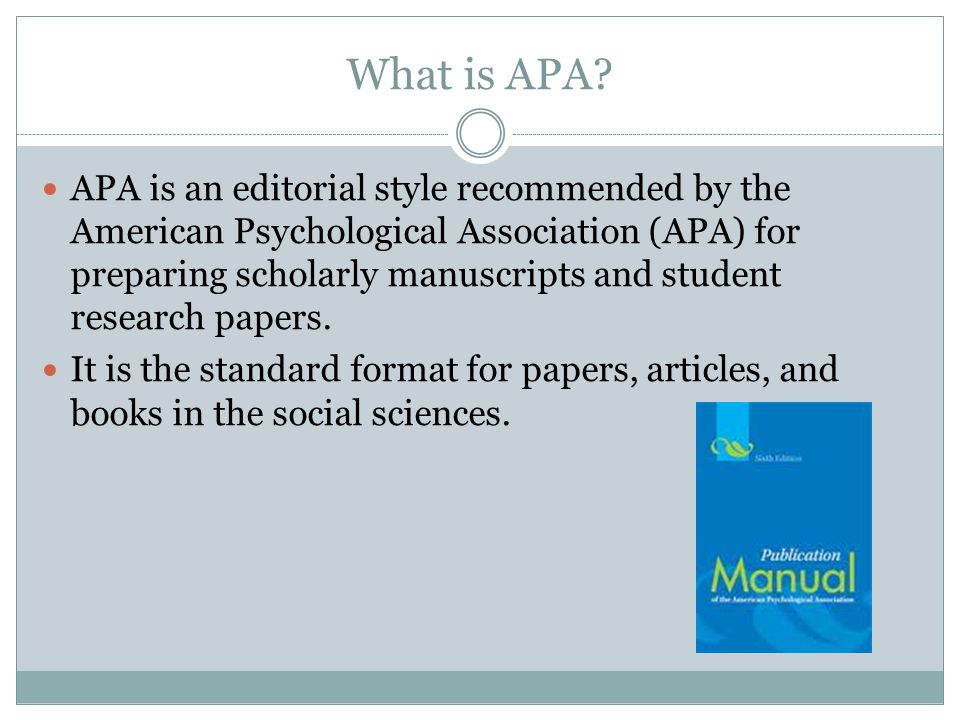 Apa dissertation table contents