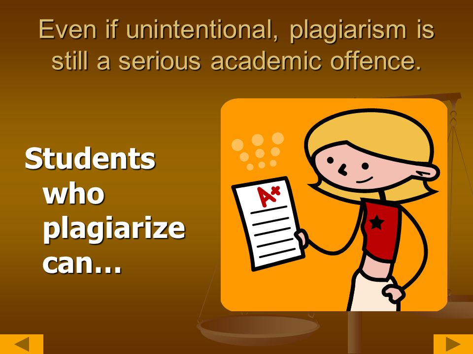 Other types of plagiarism to be aware of Having a friend write a paper for you or using someone else's paper as your own.