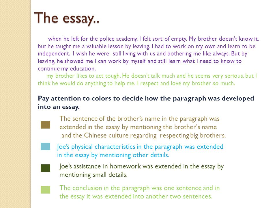 the independent variable essay