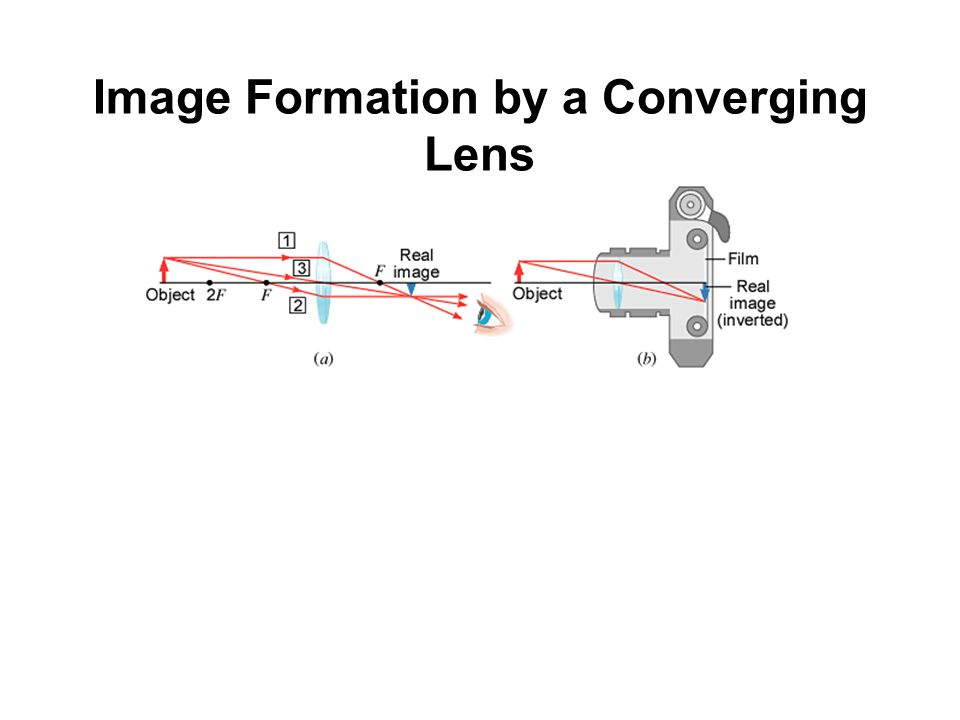 Image Formation by a Converging Lens