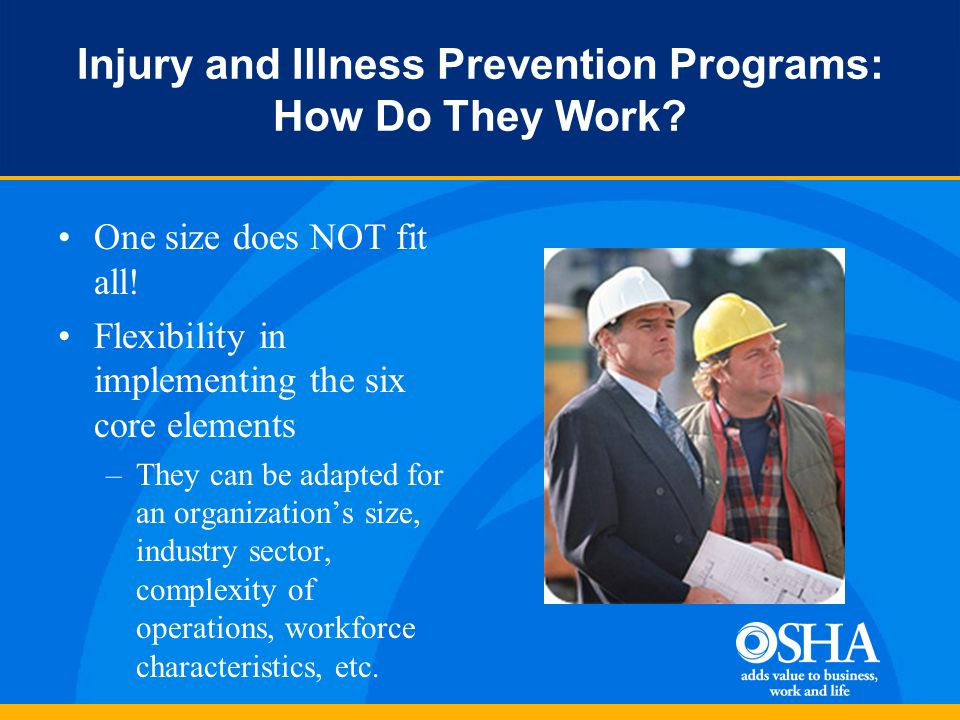 Injury and Illness Prevention Programs: How Do They Work.