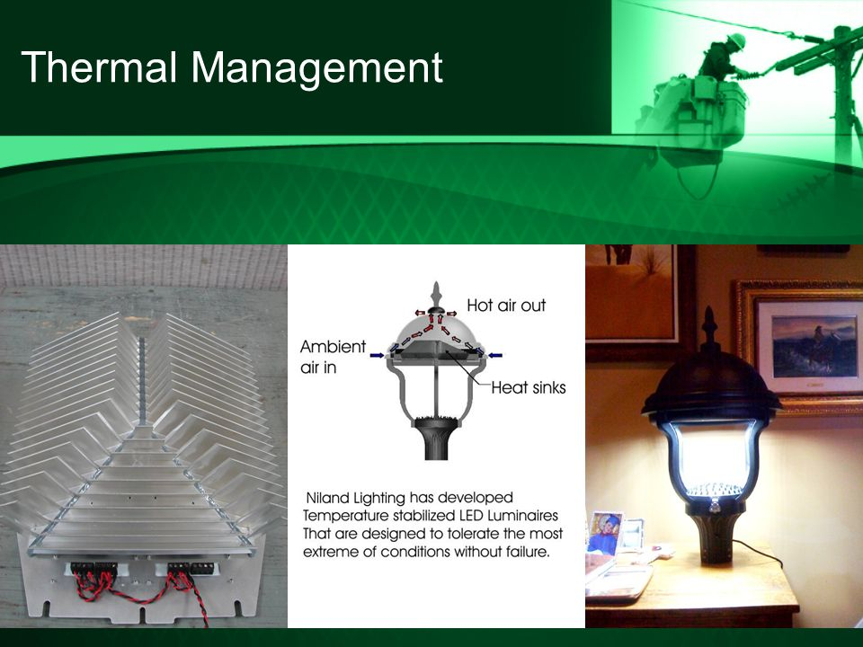 13 Thermal Management & Presented by DaTran Lighting. AGENDA Of the numerous illumination ... azcodes.com