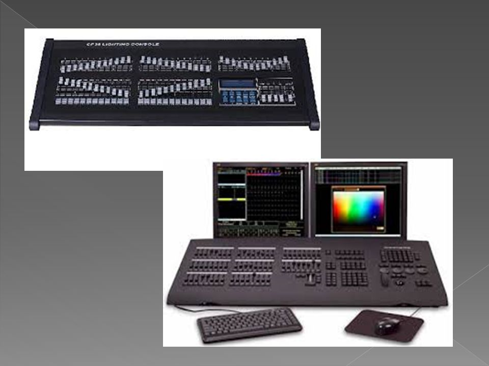 For controlling the operation and intensity of lighting instruments ...