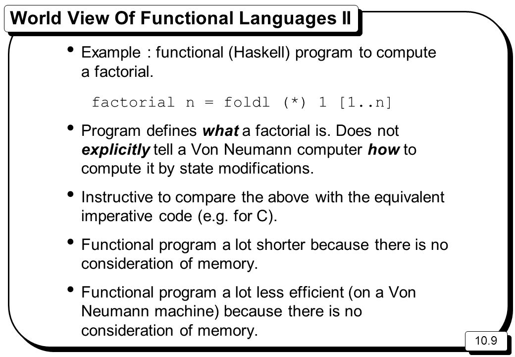Language Paradigms Programming Languages Language Paradigms - World no 1 language