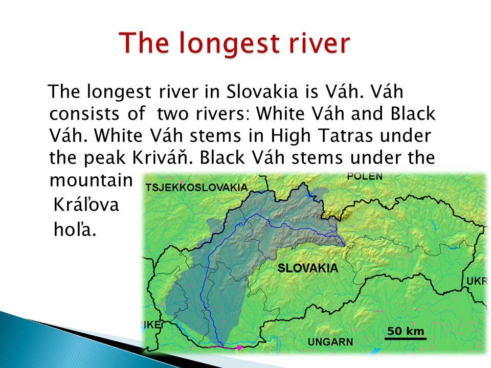 Lahučký Lukáš A SlovakiaSlovak Republic The Longest River - 50 longest rivers in the world