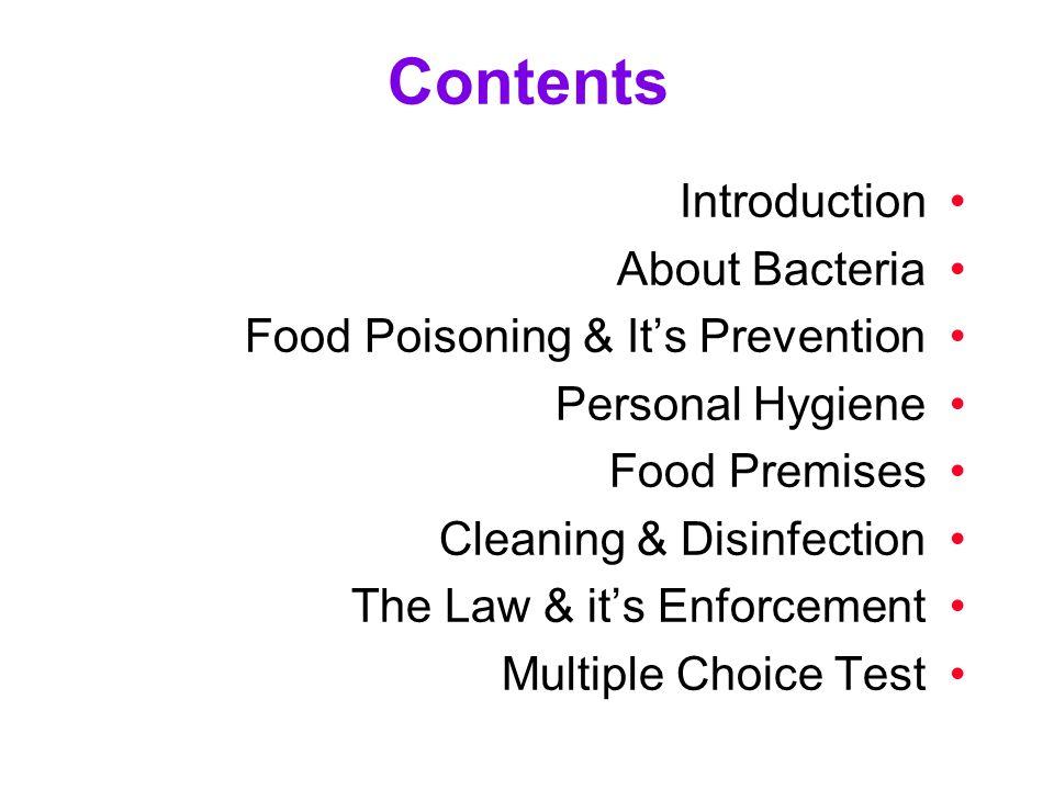 intermediate food hygiene test questions