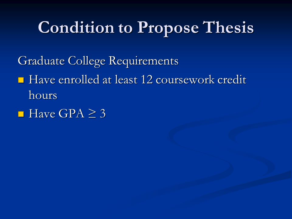 Thesis In College Essay