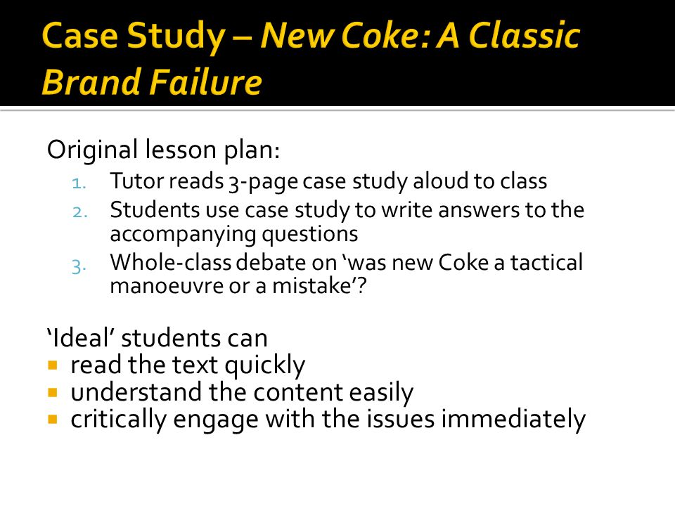 The Real Story of New Coke  The Coca Cola Company