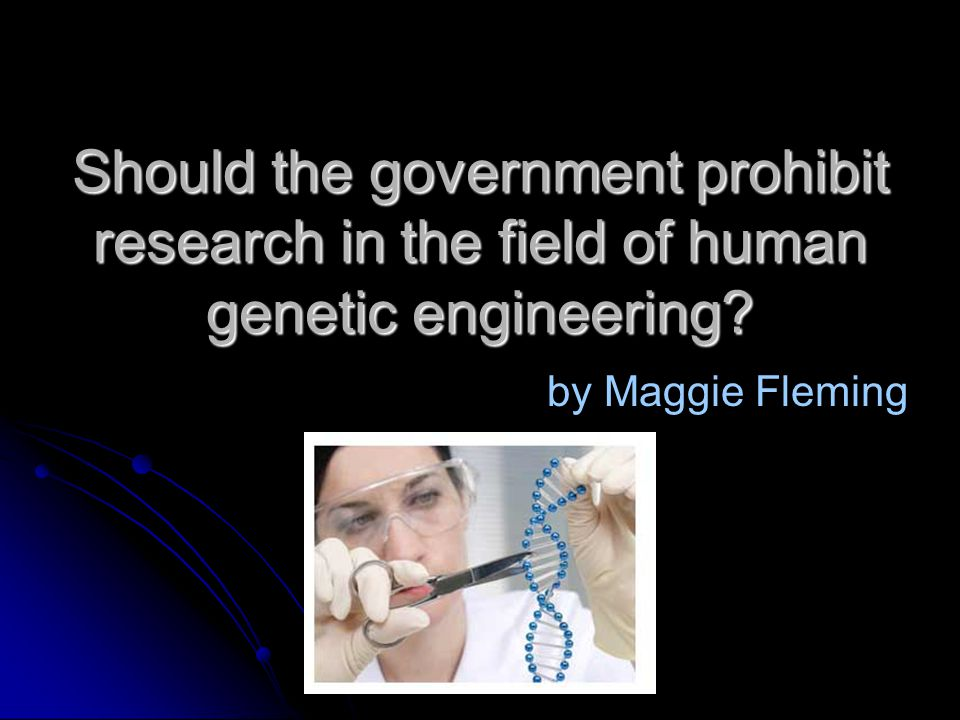 genetic engineering is the future essay