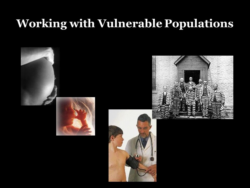 Vulnerable Working with Vulnerable Populations
