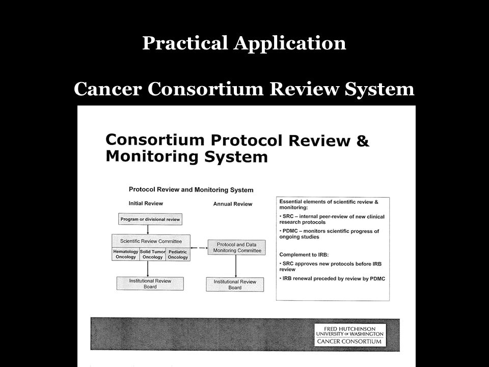 Practical Application Cancer Consortium Review System