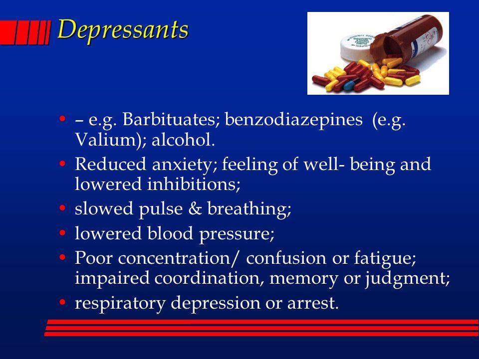 2 Depressants ...