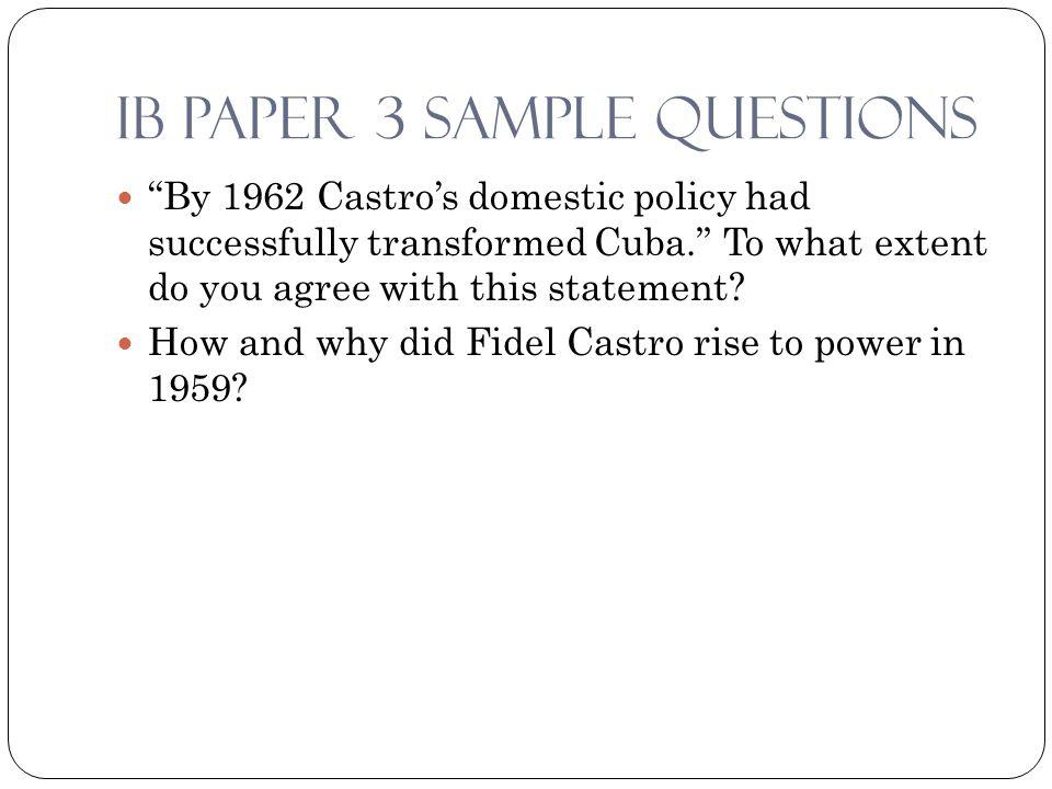 castro rise the power