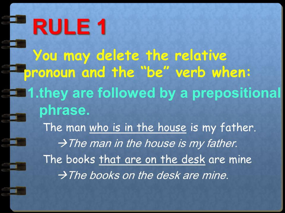 Non-defining relative clauses (non- restrictive relative clauses): add more information for the preceding noun and can be omitted.