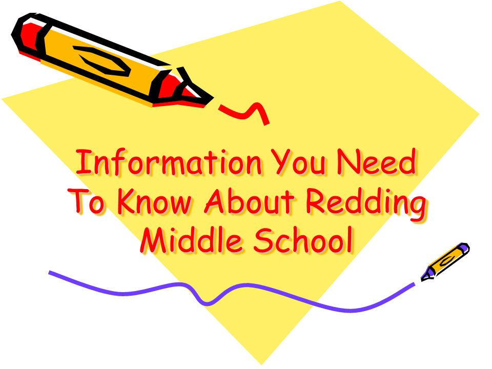 Information You Need To Know About Redding Middle School