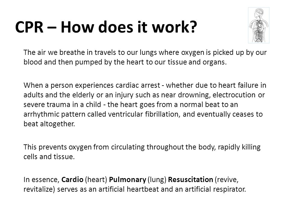CPR – How does it work.