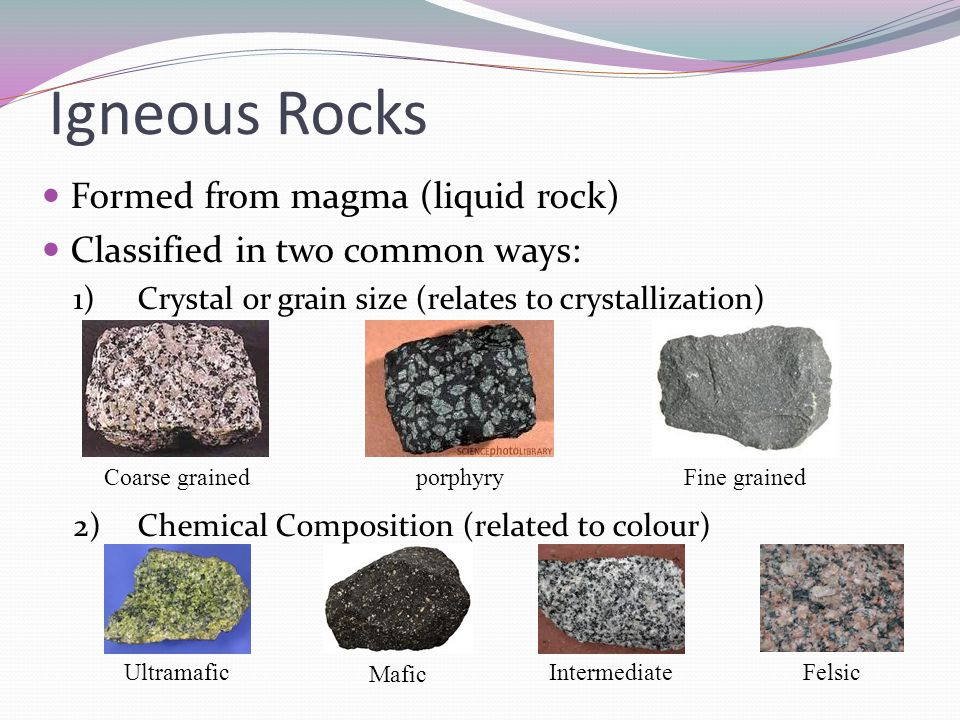 Summary 1. The Rock Cycle 2. Formation of Igneous Rocks 3 ...