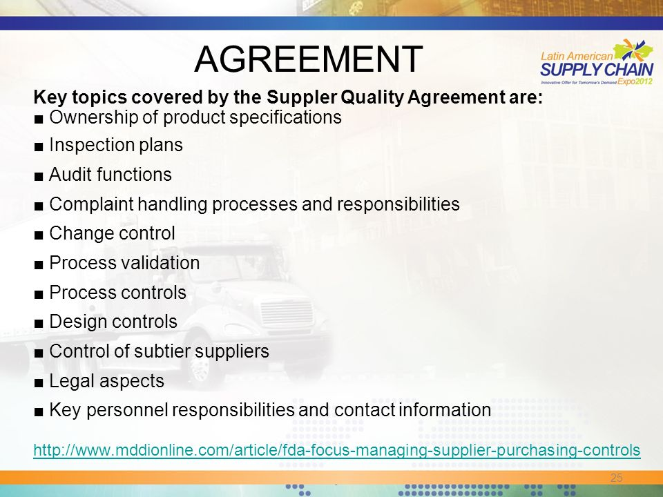 How Is The Supply Chain Impacted By The Fda Purchasing Controls