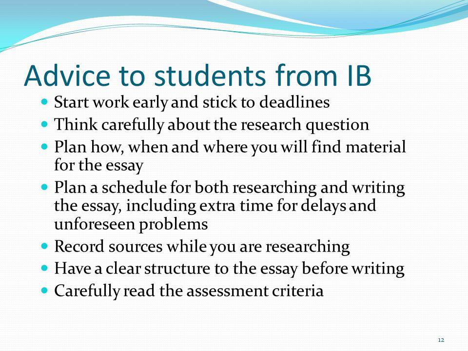 tok ib essay