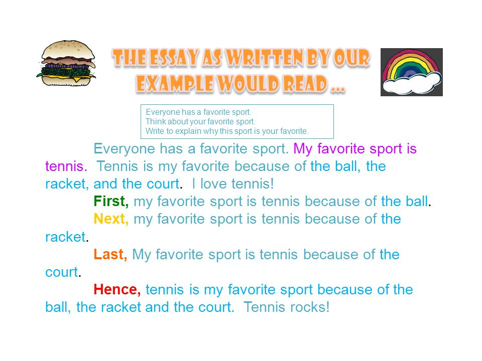 writing workshop agenda district updates on  everyone has a favorite sport my favorite sport is tennis