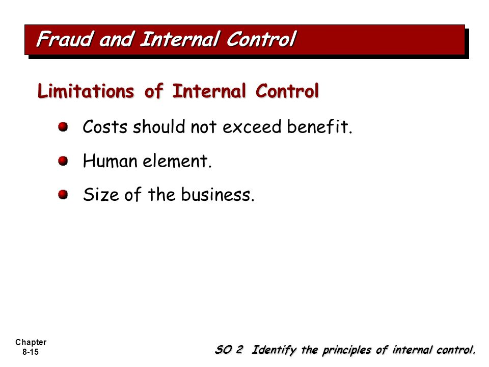 report internal control and cost benefit An analysis of the costs and benefits of auditor attestation of internal control over the financial report cost of debt, our proxy for the benefit.