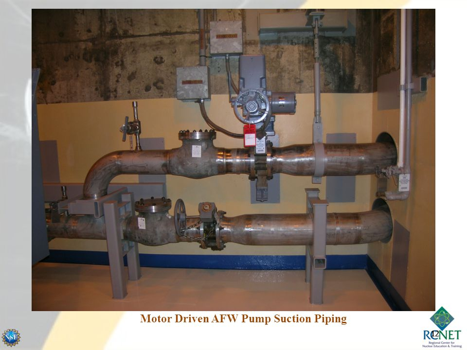 Motor Driven AFW Pump Suction Piping 12