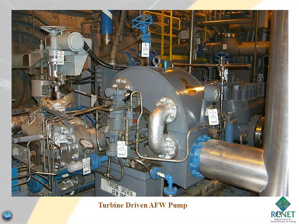 Turbine Driven AFW Pump 14