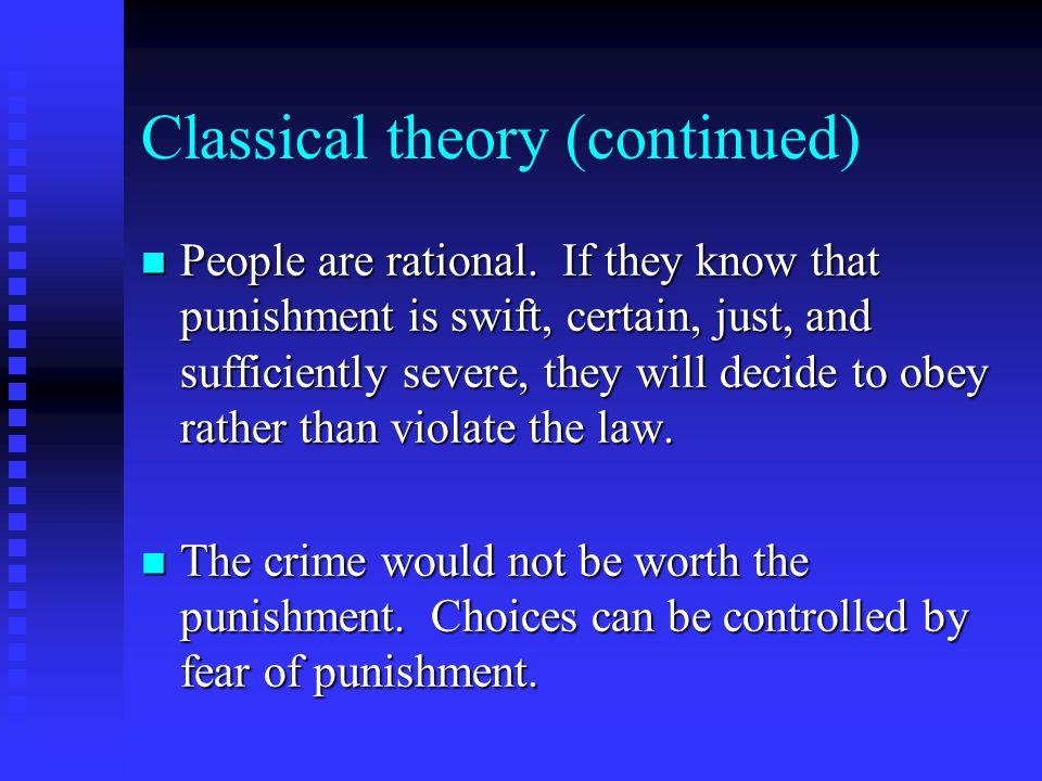theories of punishment essay