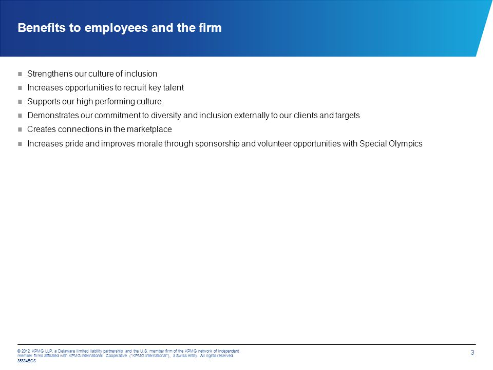 © 2012 KPMG LLP, a Delaware limited liability partnership and the U.S.