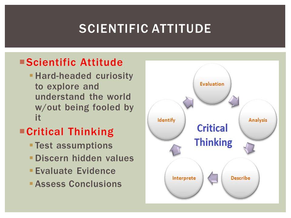 Bias critical thinking
