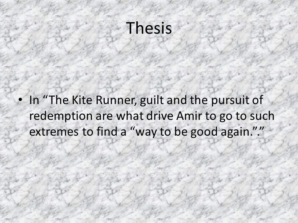 the kite runner essay thesis co the