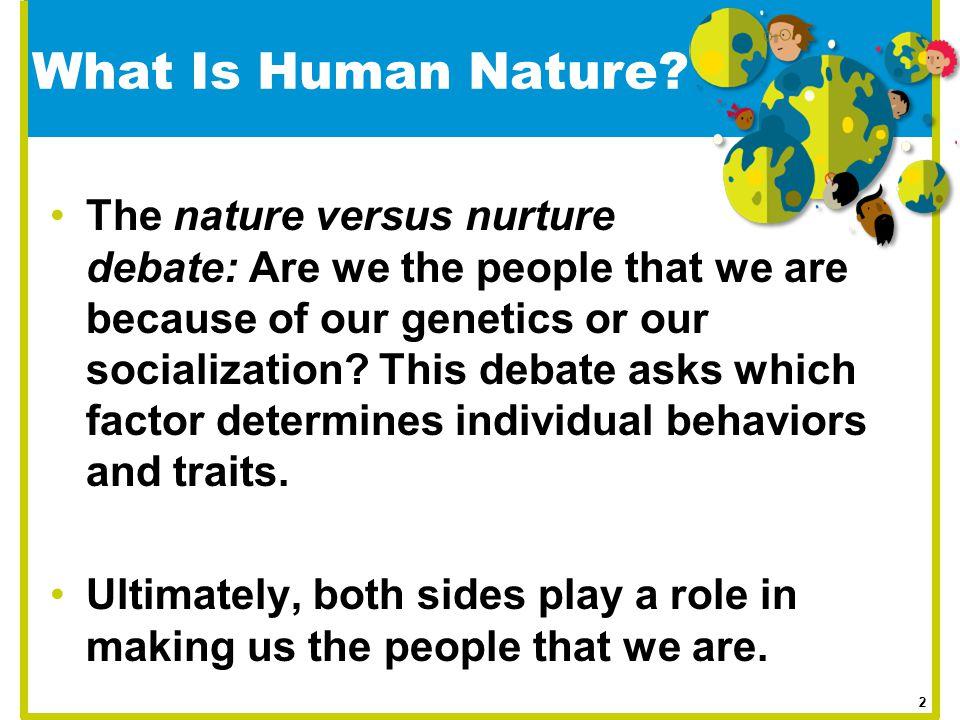 essay on nature nurture debate