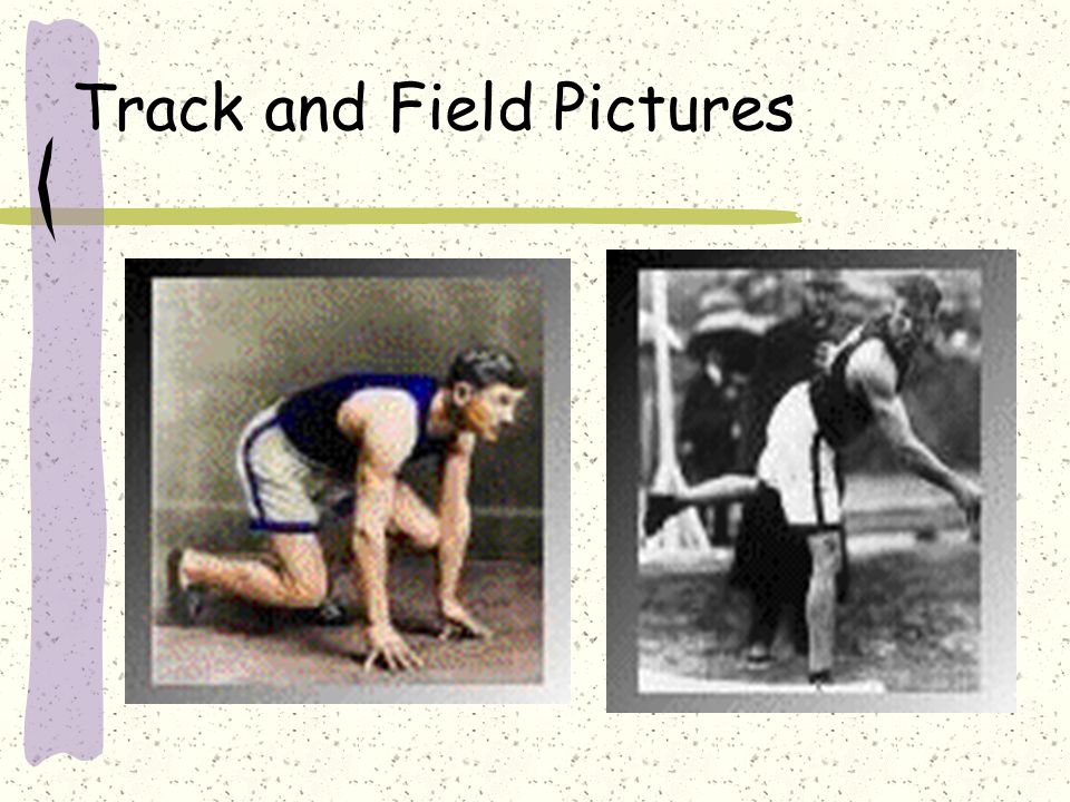 Track and Field Pictures