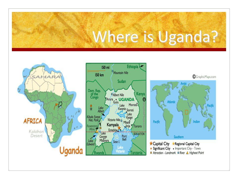 Uganda MDGs And Fact File On Uganda Full Name Republic - Where is uganda