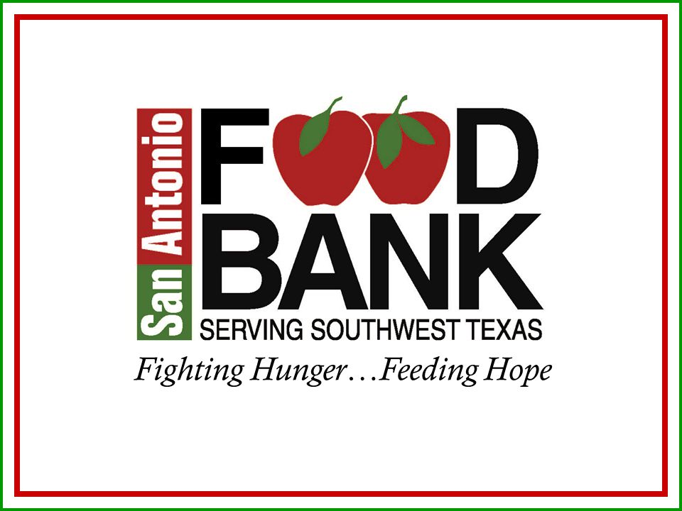 Fighting Hunger…Feeding Hope