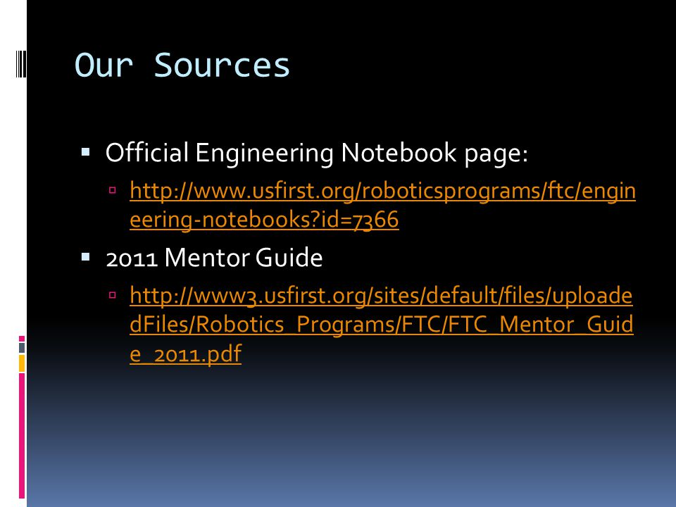 Engineering Notebook Page