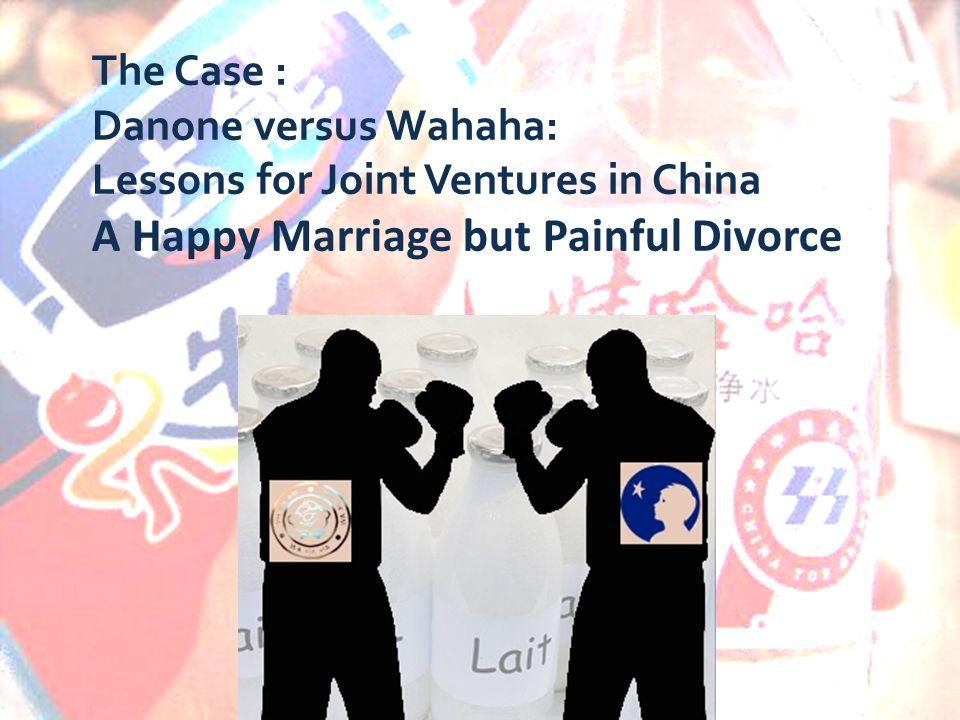 danone versus wahaha analysis