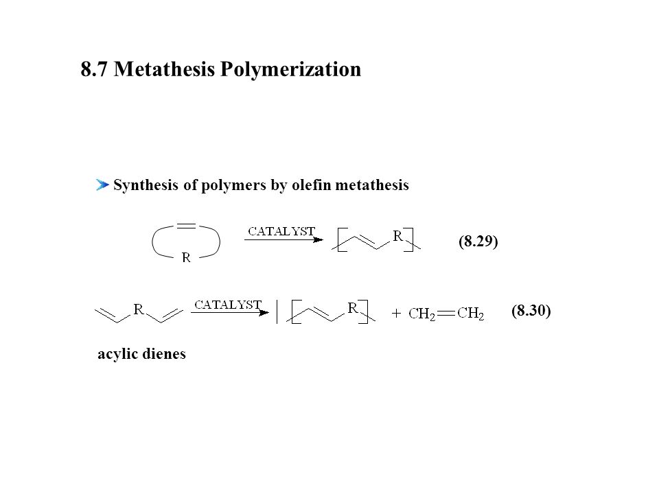 Olefin metathesis   Wikipedia  Alkylidene Reactions