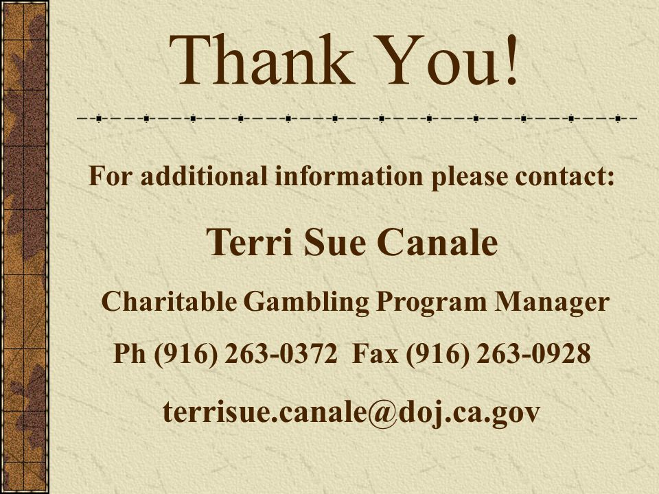 Office of charitable gambling la river palms hotel and casino laughlin